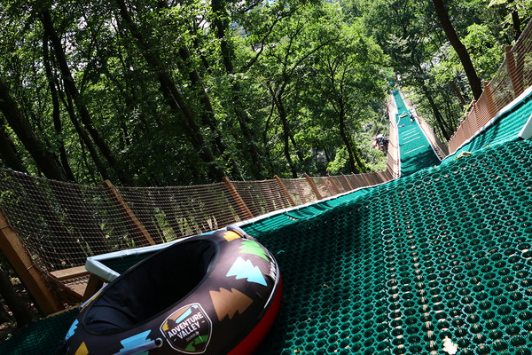 Tubing Slide © Adventure Valley